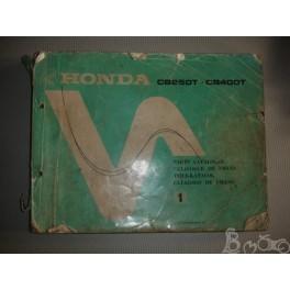 Catalogue part list Honda 250 400
