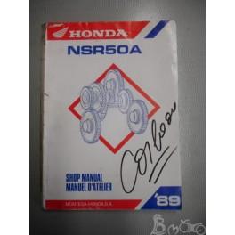 Manuel d'atelier Honda NSR 50 A