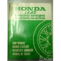 manuel d'etelier honda scooter LEAD NH50MD/MS NH80MD/MS