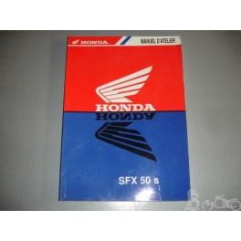 Manuel d'atelier Honda SFX 50 S
