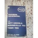 Manuel d'entretien pour Triumph Bonneville / Tiger 750cc